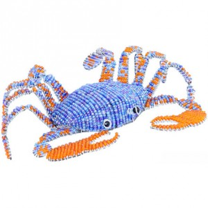 Beaded Small Blue Crab
