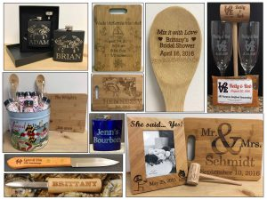 Custom Engraved Gifts Oct 2016